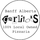 "100% local Pizzaria ""Carlito's""  Free delivery 5:00PM – 11:00PM"